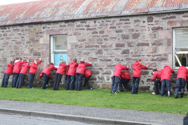 Ullapool Primary School dancers