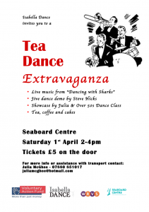 Boogie in Balintore April Tea Dance Poster