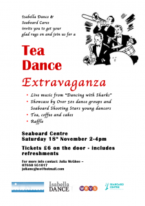 Boogie in Balintore November Tea Dance Poster